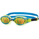 Zoggs Sea Demon Goggle Juniors Green/Blue/Hologram